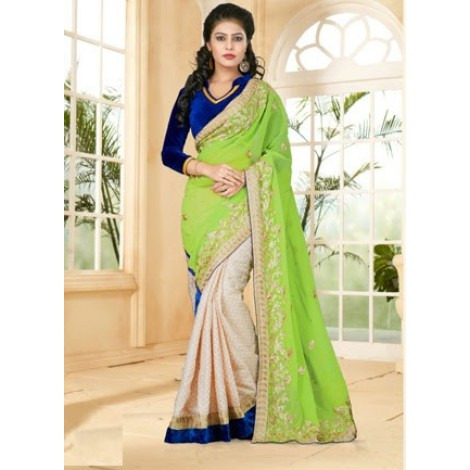 Light Green coloured saree